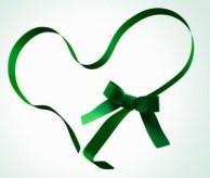 Laço da Gentileza no Namoro, símbolo do Mês de Prevenção das Violências no Namoro