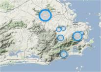 O mapeamento realizado por jovens e adolescentes identifica e georreferencia áreas de risco socioambiental na Rocinha, no Borel e nos morros dos Prazeres, dos Macacos e do Urubu, no Rio de Janeiro