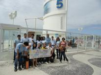 Setembro Azul: Jovens surdos e ouvintes em mobilização na praia de Copacabana