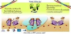 festa julina do RAP da Saúde