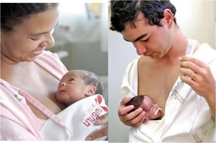 Método Canguru: atenção humanizada para o recém-nascido de baixo peso e para toda a família