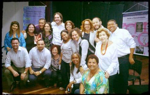 Intersetorialidade: representantes da Prefeitura do Rio, do Governo Federal e da sociedade civil juntos para discutir políticas públicas para valorização da paternidade