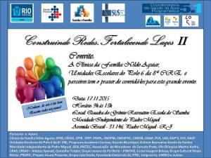 Convite Construindo Redes, Fortalecendo Laços II (1)