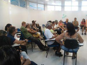 Participantes da Roda de Conversa Não Bata, Eduque