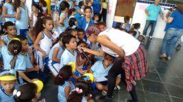 Atividade lúdica com os alunos