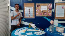 RAP da Saúde em distribuição de materiais educativos sobre Tabagismo