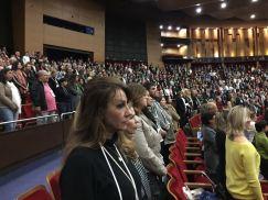 Público presente na abertura da Conferência