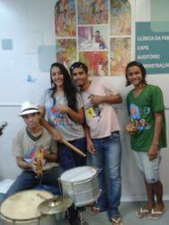 Visita do RAP da Saúde da CAP 5.3 ao CAPS Simão Bacamarte