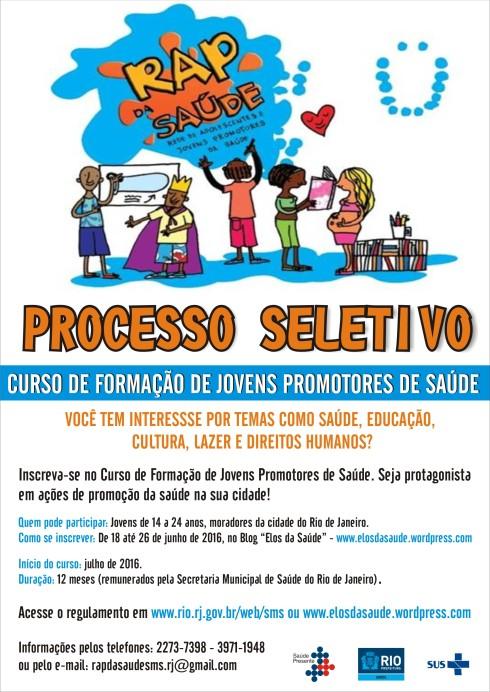 CARTAZ SELECAO RAP DA SAUDE (2)