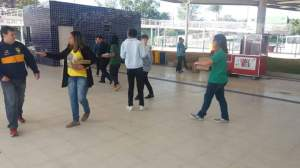 Abordagem educativa BRT Alvorada